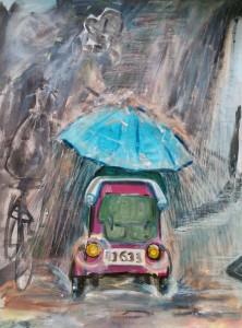 chinese regen bij centraal